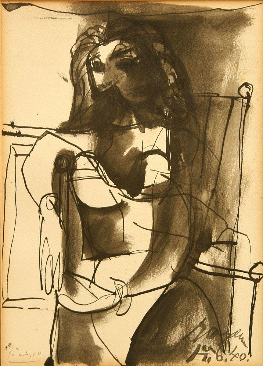Picasso-Femme-Assise